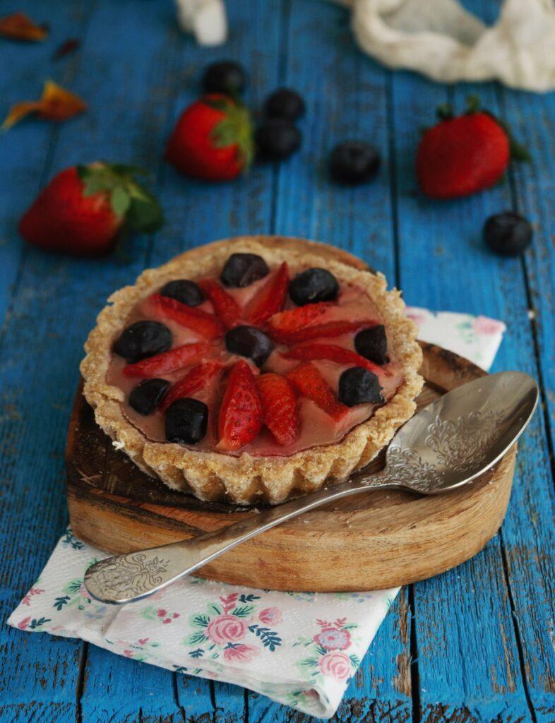 tartaleta de fresa ideal para postre